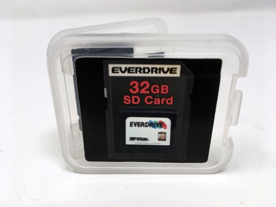EverDrive GG 32GB SD Card - Sega Game Gear Complete Library & Fully Loaded