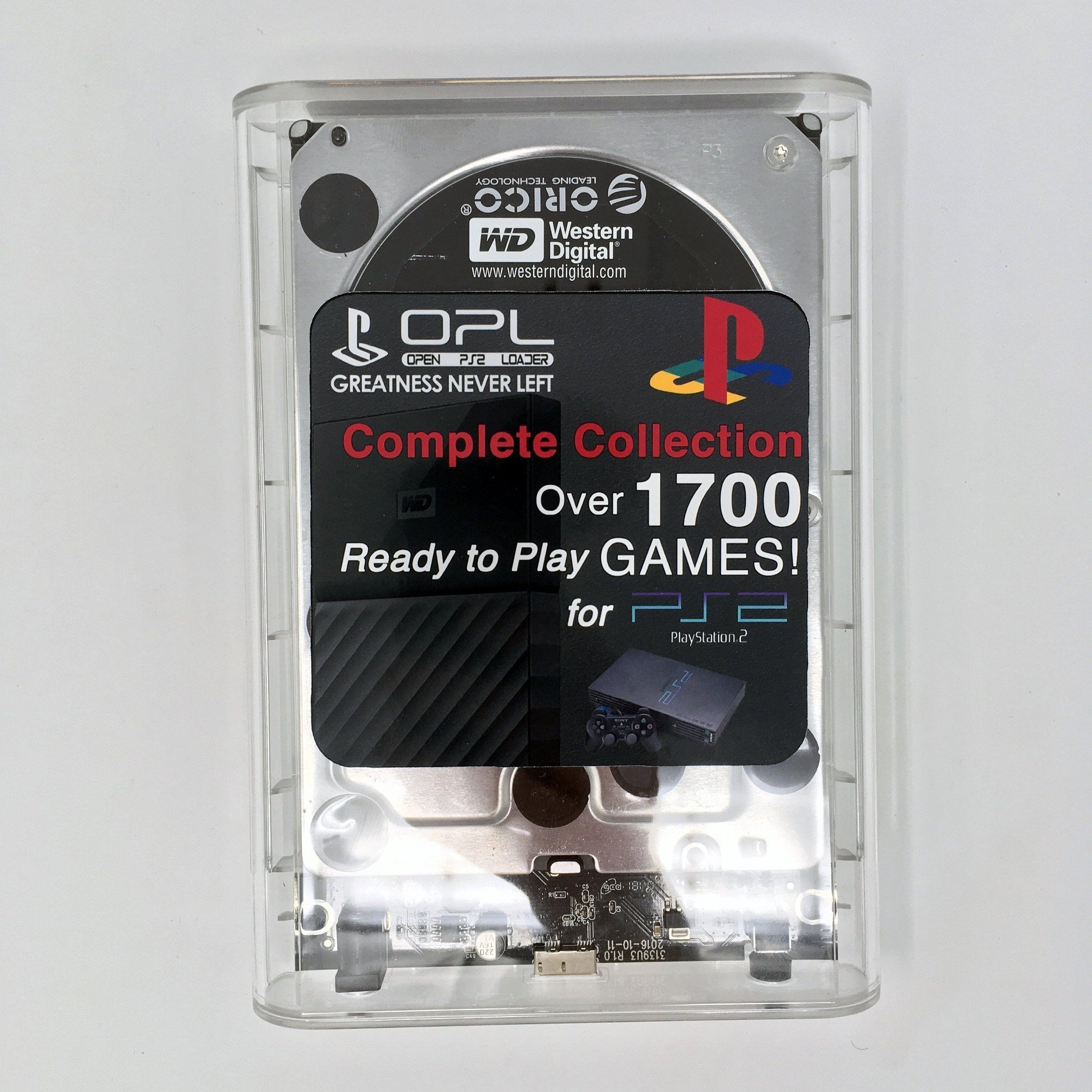 PS1 Complete Collection Hard Drive for PopStarter OPL PS2 - Free McBoot  FMCB Open Ps2 Loader VCD Usb PlayStation Psx