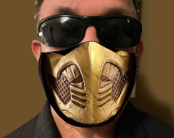 Scorpion Mask Etsy