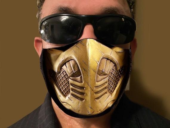 mortal kombat mask scorpion