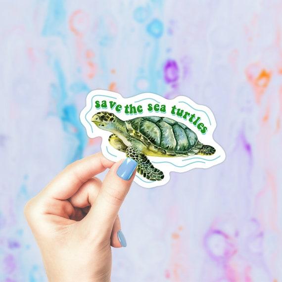 SAVE THE TURTLES Kids All Sizes VSCO GIRL