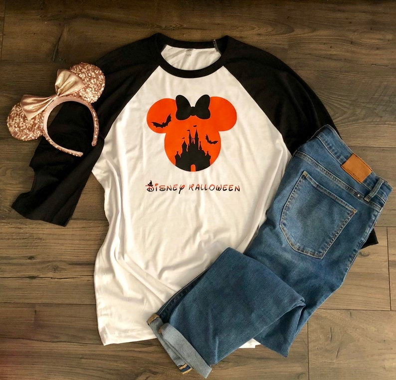 Disney Halloween Shirts Etsy.Disney Halloween Shirt Minnie Mouse Shirt Halloween Shirt Disney Shirt Disney