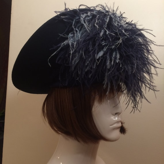 Ostrich Feather Hat