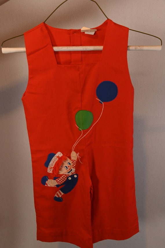 Children's Raggedy Andy Jump Suit