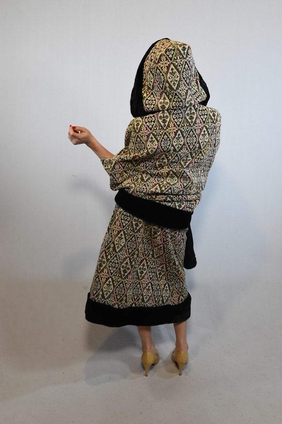 Vintage Cloak and Skirt Set - image 5