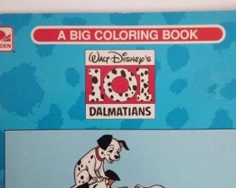 Disney 101 Dalmations Coloring Book