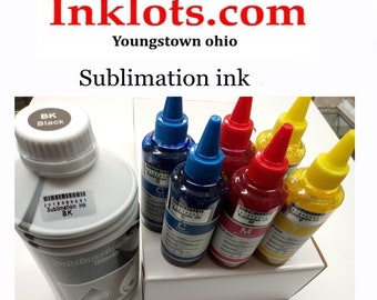 1600 ml ML sublimation ink Bcm y for any Epson inkjet Eco | Etsy