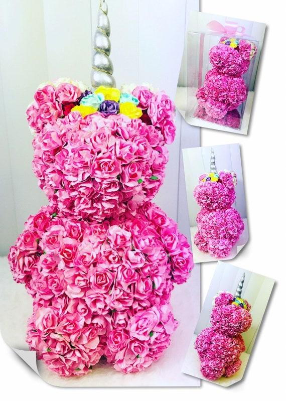 Rose Bear Flower Roses Unicorn Rosesgift Girlfriend