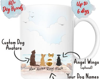 5ec3ddd73 Personalized Dog Mug, Dog Lover Gift, Dog Coffee Mug, Dog Owner Gift,  Custom Dog Mug, Pet Mug, Dog Mom Mug, Dog Dad, Gifts For Dog Lovers