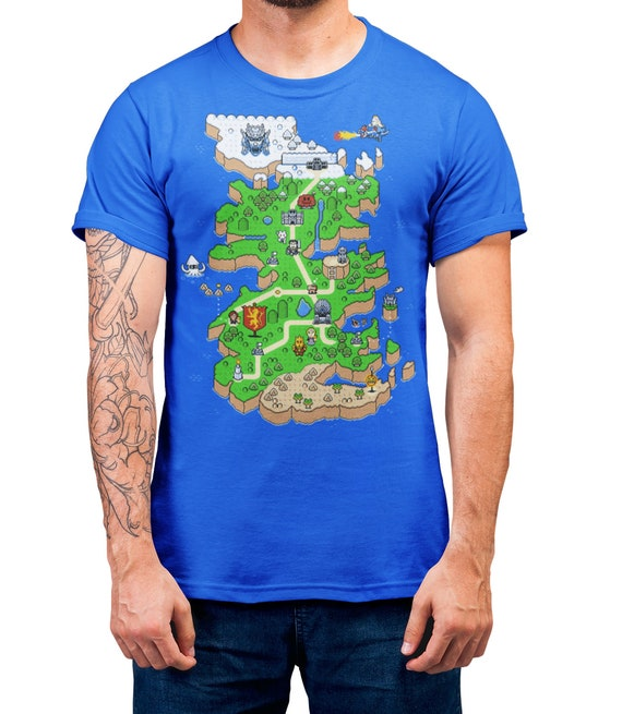 Super Game of Thrones T-Shirt Gaming Mash Up Shirt Adults /& Kids