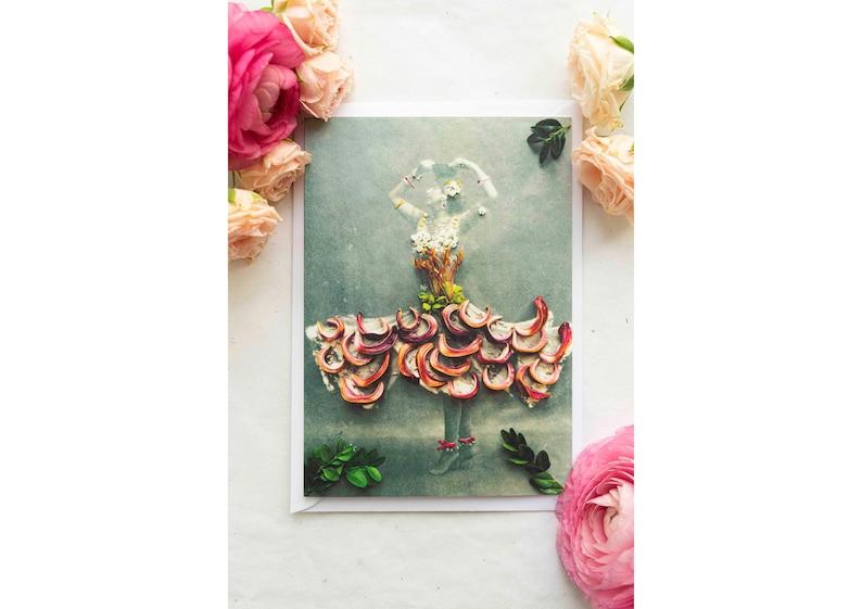 Greeting Card  Folding Card  Postcard  Ballet  Dancer  image 0