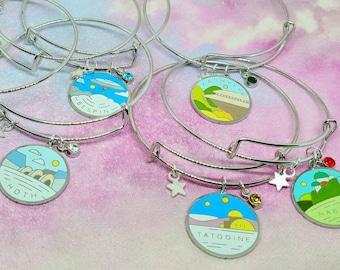 Choose your destination far away bangles seven designs to choose from Far