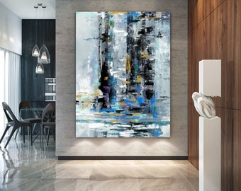 Extra Large Wall Art Textured Painting Original PaintingPainting On Canvas Modern Decor Contemporary Abstract Pa0428