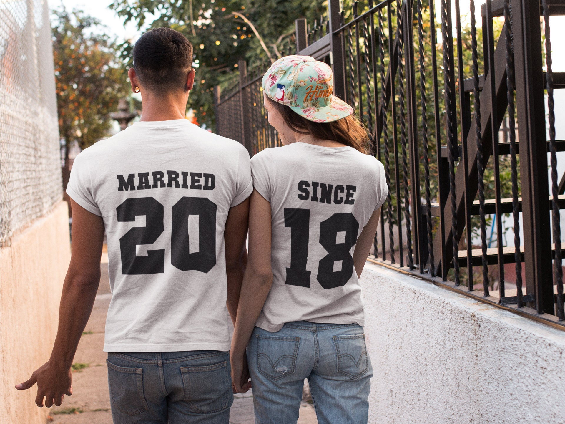 ac05a09192 Married since shirts just married shirts honeymoon shirts | Etsy