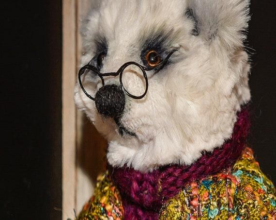 Teddy Bear,Art, felted , Boho, Gift, Decor,Wall Decor,Home Decor,Personalized Gift,Home,Doll,Bathroom,Farmhouse Decor, kitchen, decor ,wool