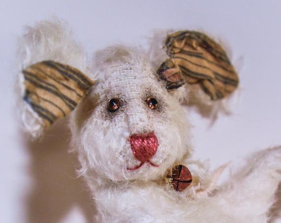 Hare,Teddybear, Rabbit, OOAK, decor, toy bear,Teddy, nursery gift,Teddy Bear, nursery deco, Handmade, Mohair, nursery art,OOAK,Teddy, Bear