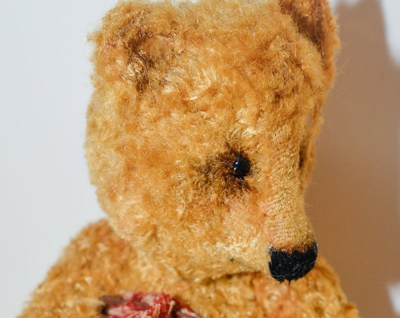 Teddy bear,mohair,OOAK,collectible toy bear,Teddy, nursery gift,nursery decor, Vintage,Handmade,Mohair,nursery art, OOAK,Teddy, Bear, Gift