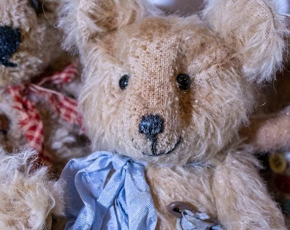 Teddy bear,mohair,Bear,Ooak,Teddy,gift,decor,Doll,Handmade,art, gift for sister,Sister,Home decor,holiday decor,miniature,miniature animals,