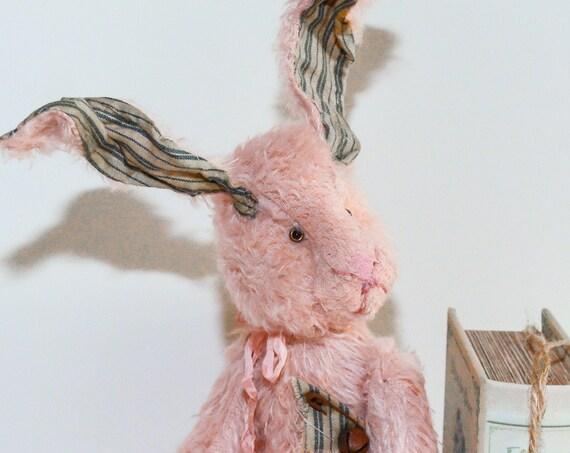 Hare,Bunny Rabbit,Rabbit,Bunny Rabbits,Hare Gift,Hares,Bunny Hare Rabbit,Nursery Gift,Nursery Art,Girl Nursery,Handmade,Stuffed Animal,ooak