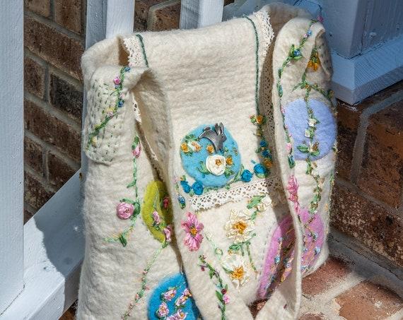 Crossbody bag, Crossbody,Felted purse, shoulder bag,ToteBag,Felted Bag,Wool Bag,Purse,Purse,Wool Bag,Handmade Bag,Handmade Purse,Hand Bag
