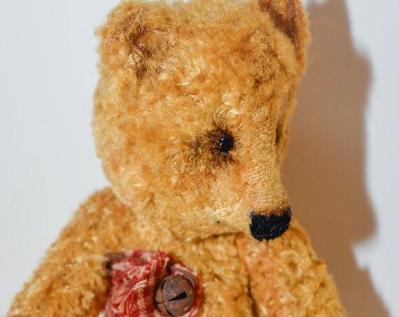 Teddy bear,mohair,OOAK,collectible toy bear,Teddy, nursery gift,nursery decor, Vintage,Handmade,Mohair,nursery art, OOAK,Teddy, Bear, Gift