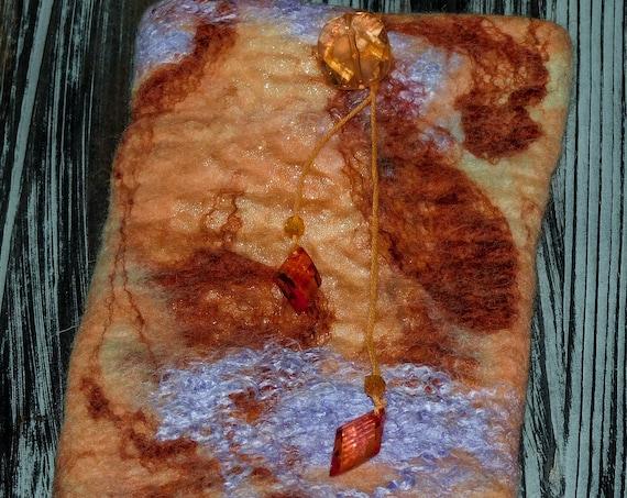 Merino wool, Wool , eyeglass case,iphone case,felted wool case ,handmade case, birthday gift, gift,Christmas gift.