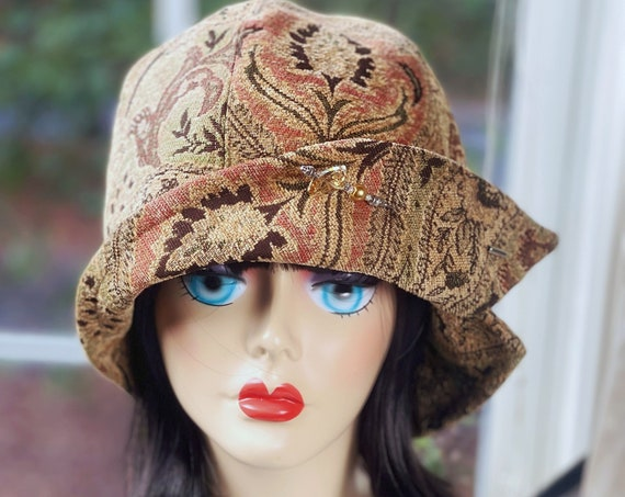 1920s Hat,Cloche Hat,Downton Abbey Hat,Miss Fisher Hat,Vintage Costume,Great Gatsby Hat,1920s Flapper Hat