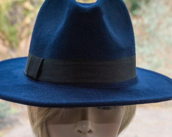 Fedora Hat, woman hat, gift, gift for sister, gift for him,Hat,Black hat, boho hat, boho