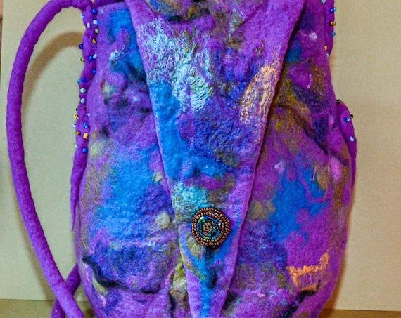 Felted purse, felted wool, wool Bag,Felted Bag,Wool Bag,Purse,Purse,Wool Bag,Handmade Bag,Handmade Purse,Hand Bag,Boho Bag,Wool Purse,Felted