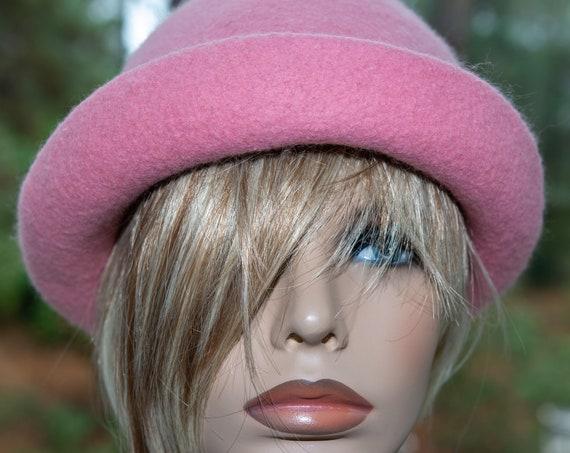 Felted Hat,Flapper Hat,FeltedHat,1920's Hat,Flapper Hat,Cloche,FeltedWoolHat,Handmade,Felt Hat, Black hat, Downton Abbey,Felted Hat,Wool Hat