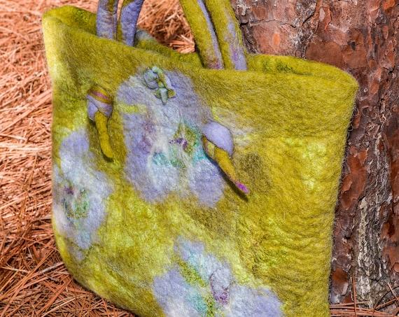 Felted purse, Bag,ToteBag,Felted Bag,Wool Bag,Purse,Purse,Wool Bag,Handmade Bag,Handmade Purse,Hand Bag,Bohemian Bag,Wool Purse,Felted Wool