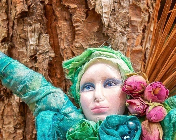 Spirit Goddess Doll- Spirit Doll Gift - Kitchen Witch-Freind Housewarming Gift -Mom To Be Gift -Spiritual  goddess doll- Healing Spirit