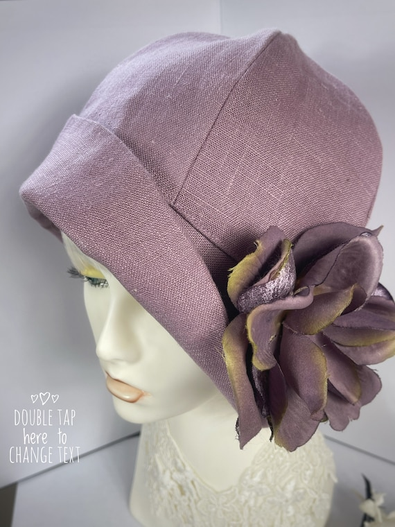 1920s Hat,Cloche Hat,Downton Abbey Hat,Miss Fisher Hat,Vintage Costume,Great Gatsby Hat,1920s Flapper Hat,Gift for Mom,Gift For Her,Cloche