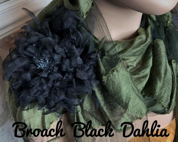 Corsage - Corsage Flower - Flower Brooch -  Pearl Brooch - Silk Flower Corsage Brooch - Poppy Brooches - Corsage Flowers - Wedding Brooch