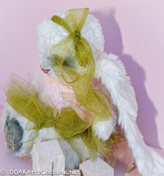 Hare,Bunny Rabbit,Rabbit,Teddy bunny ,Gift,Toy,Bunny, Hare. Rabbit,Nursery Gift,Teddy Bear,Handmade,Stuffed Anima ,art dolls,Doll, ooak