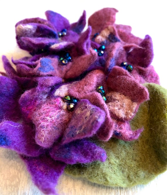 wedding, Hat Pin,Felt flower,sister GIft,Flower, pin, Bridesmaid Flower, felt, flower jewelry, wool flower, flower girl gift, jewelry,Gift