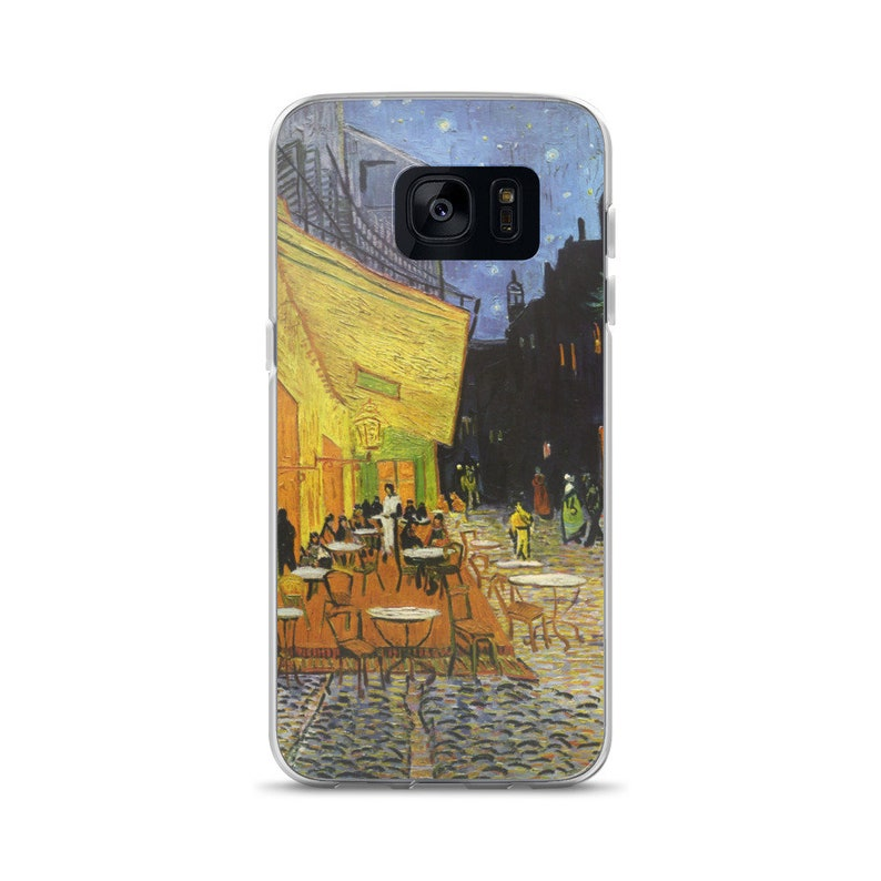 Samsung Galaxy S10 case Vincent van Gogh Cafe Terrace on the Place du Forum  Arles at Night Galaxy s7 edge Painting Samsung galaxy s9 case