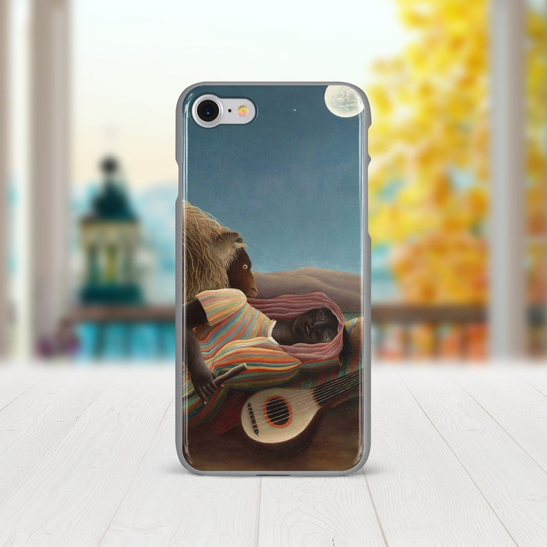 iPhone 11 Pro Max,Henri Rousseau Iphone x case iPhone 8 Case Spring Summer Art Painting Iphone xs max case Slim Iphone  Na\u00efve Na\u00efve case