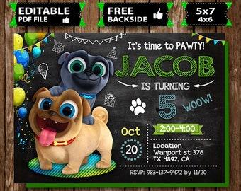 Puppy Dog Pals Birthday Etsy