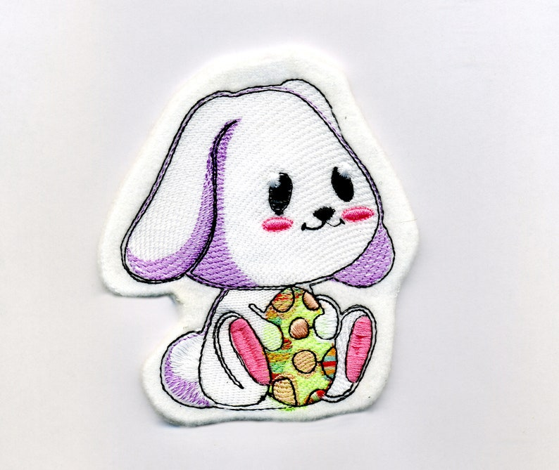 Set of machine embroidery designs Easter Bunny. image 0
