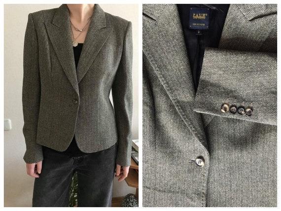 New short brown women's jacket PAUW Amsterdam wool