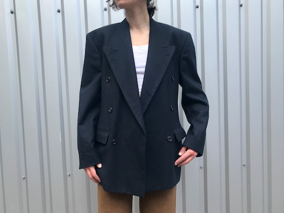 Vintage Men's Wool Six-on-one Double-breasted Suit