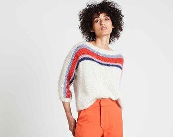 Tara with stripes  Knitting pattern