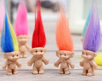 10Pcs//lot Random Dreamworks Trolls Movie Plush Dolls Poppy Cake Toppers
