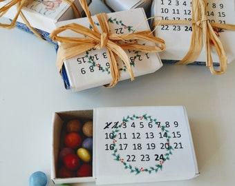 Advent calendar for friends or to go