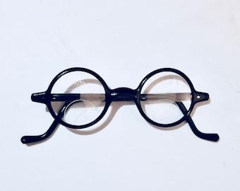 6b2064fe542d Vintage Round Bakelite Safety Glasses
