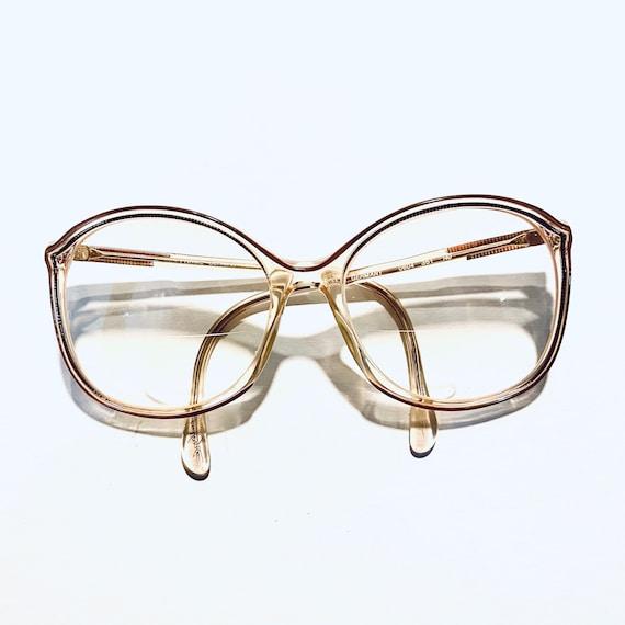 Vintage 80s Oversized Cateye Eyeglasses