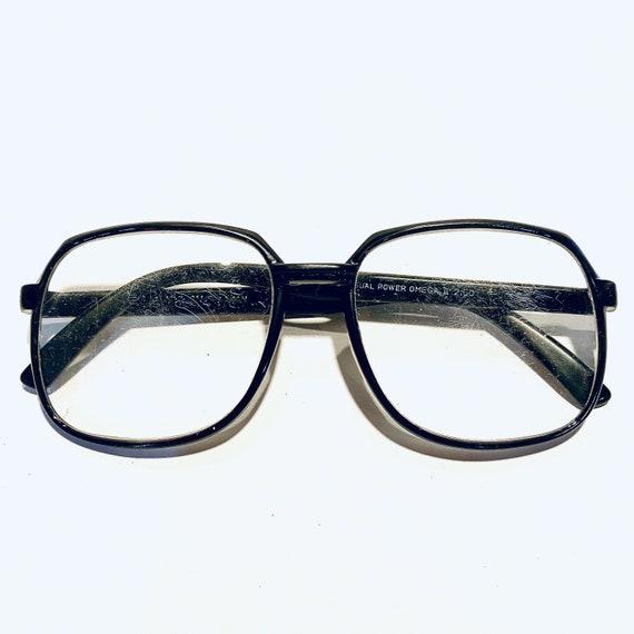 Vintage Oversized Round Eyeglasses