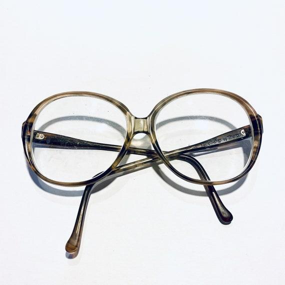 Vintage Shuron Oversized Round Eyeglasses