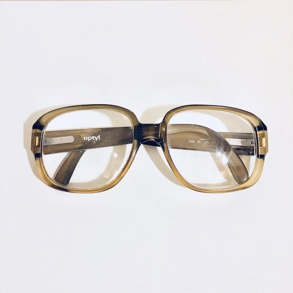 Vintage Optyl Oversized Eyeglasses